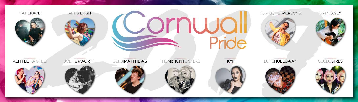 2019 Cornwall Pride Entertainment